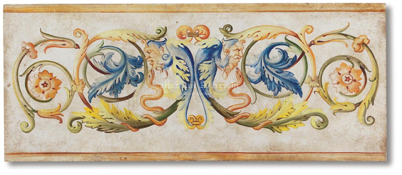 Grottesca mariani affreschi shop - Decorazioni grottesche ...