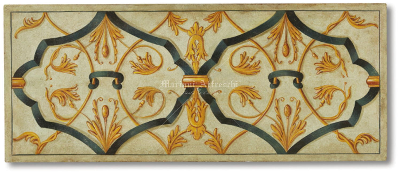 Grottesca veneziana mariani affreschi shop - Decorazioni grottesche ...