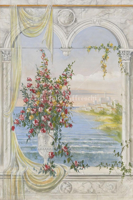 Una finestra sul mare mariani affreschi shop - Una finestra sul mare ...